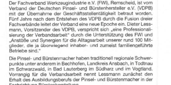 Bericht Bundesverband Farbe Gestaltung Bautenschutz